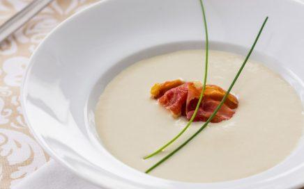 Gourmet recipe: iberian ham soup
